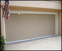 Clearview Motion Screens Can Be Added To Garage Openings