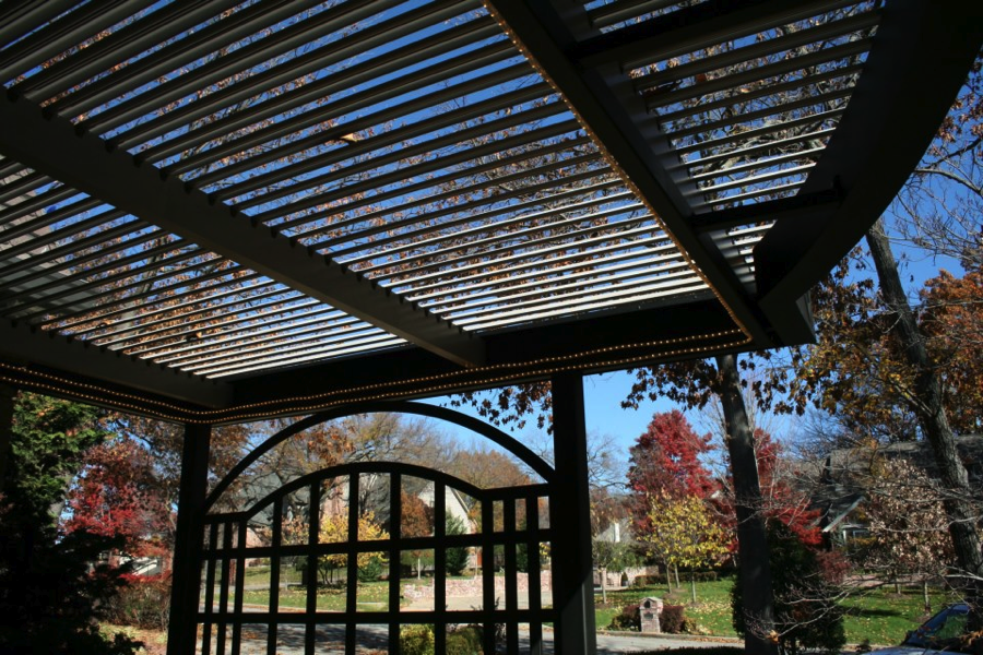 The American Louvered Roof A Remote Control Pergola