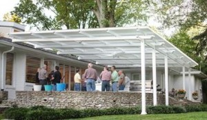 Louvered Roof Greenville